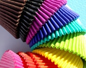 Bulk Rainbow Solid Colored Cupcake Liners - ALL 10 COLORS (240 count - 24 of each color)