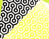 Honeycomb Paper Favor Bags Sweet as can Bee Collection in Black and Yellow- MEDIUM Size Goodie Bags (20 Count)