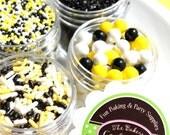 Sweet As Can BEE Sprinkle Kit (4 MINI jar pack - 1 oz jars)