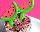 Watermelon Cupcake Picks (set of 24) SALE