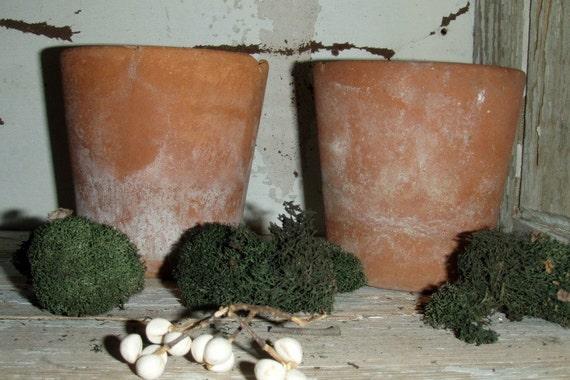 Antique English Clay Pots
