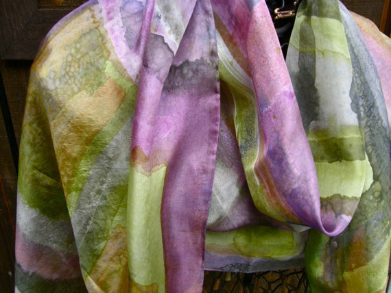 Jubilation Silk--Chartreuse and Rose-reduced!