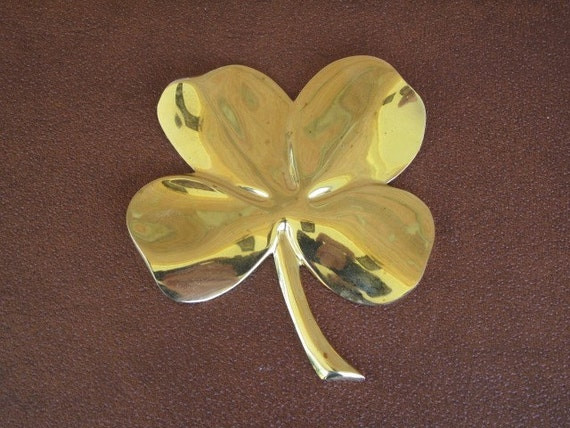 Vintage Four Leaf Clover Lucky Shamrock By Milkacervenka