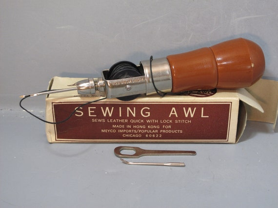Vintage Richard S Famous Lock Stitch Sewing Awl In