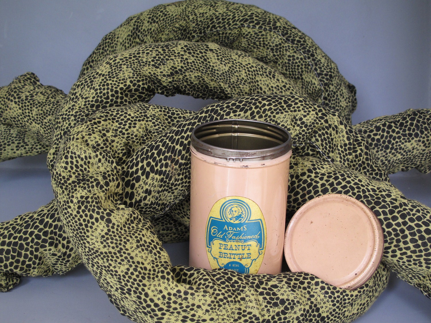 Vintage Snakes In A Can A Real Nutty Surprise 3 Long Spring