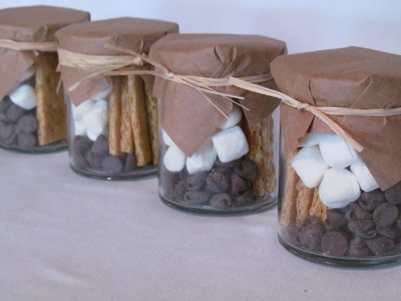 Western Wedding Gift Ideas: Items Similar To S'Mores Kit Wedding Favors