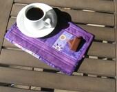 Purple Mug Rug