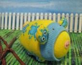 Robot Sock Pig