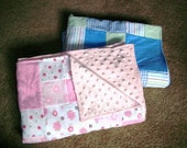 Reserved Listing for Kellyminelly - custom quilt created from receiving blankets