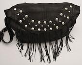 Rock n bag studded leather bag  //Made to order  //
