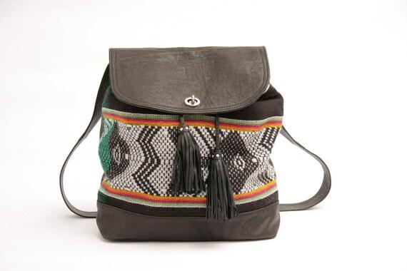 On Sale , was 180 usd //The Inca Backpack & shoulder bag//