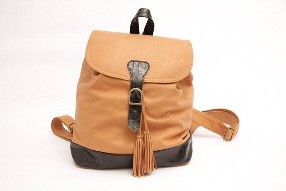 Crocco Backpack & shoulder bag