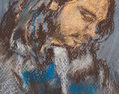 Greek Man with Scarf fine art reproduction