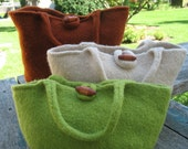 Modern Wool Handbag Knitting Pattern