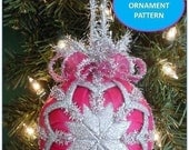 Christmas Ornament, Christmas Ornament Pattern, Quilted Christmas Ornament,  PDF  Patterns, Tutorial, Handmade Christmas,  INSTANT DOWNLOAD