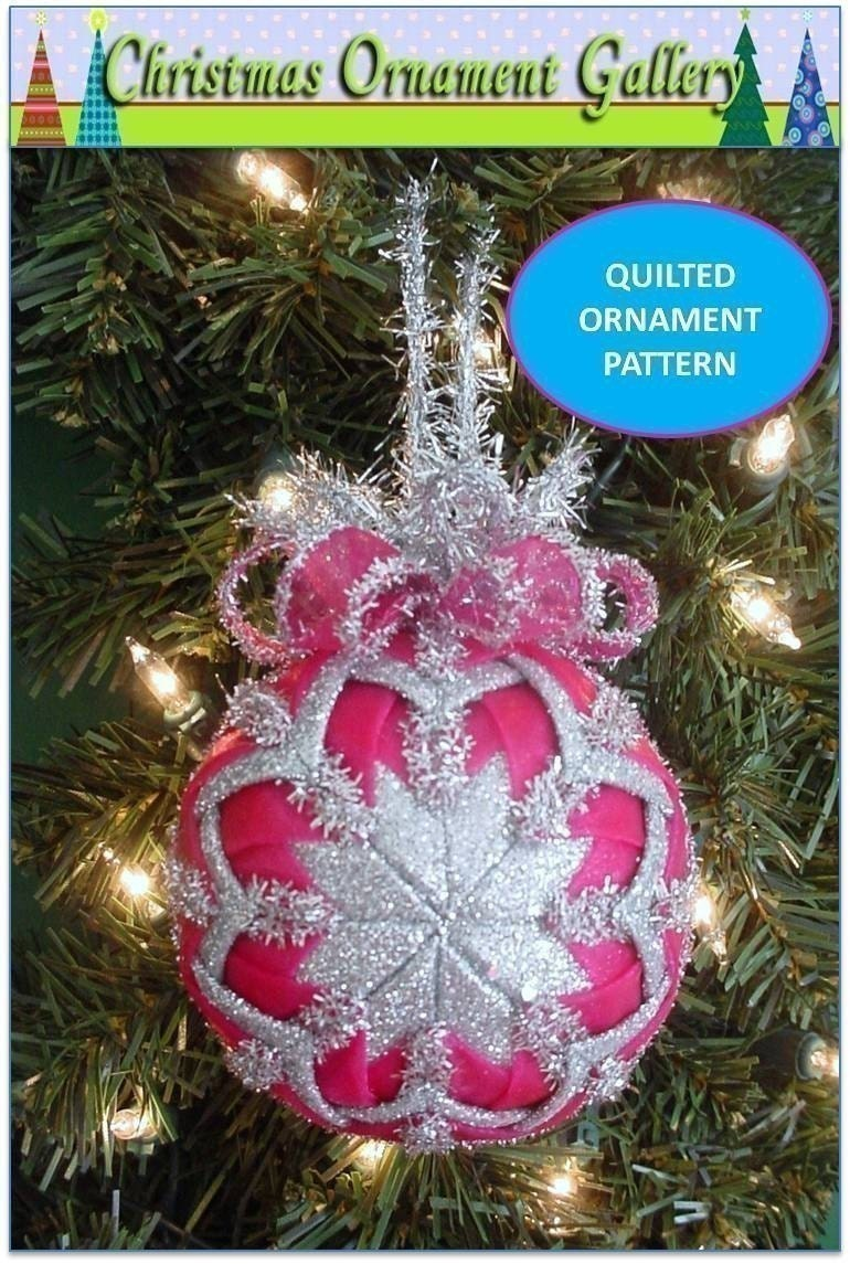 how to make handmade quilted ornaments ornament ornament pattern quilted 3349