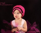 Items Similar To Crochet Pattern Childs Slouchy Brimmed