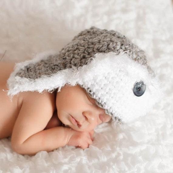 Free Crochet Pattern Newborn Frog Hat : NEW FREE CROCHET PATTERN NEWBORN FROG HAT Crochet
