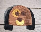 Hound Dog Knitted Hat- PHOTO PROP