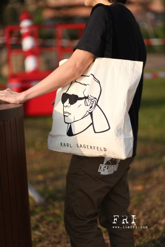 TOTE BAG with Karl Lagerfeld