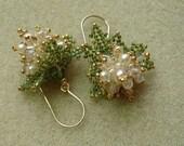 Tutorial for Oak Leaf Hydrangea Earrings