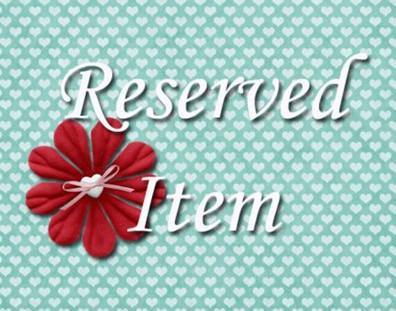 Custom listing for vintagemontage