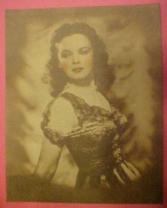 Gloria Jean 1940s Studio Photo Print Movie Actress 10x8 Vintage Hollywood