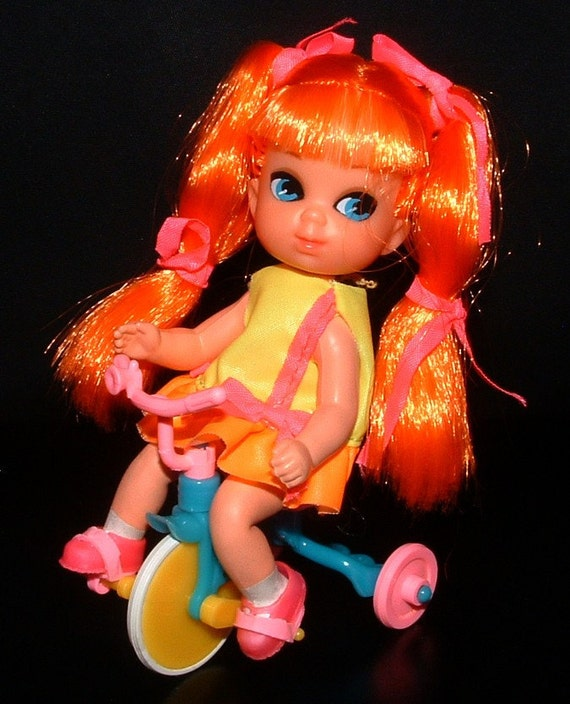 Rare Retro Tracy Trikediddle Skediddle Kiddle Doll Little