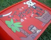 Personalized Kids Lap/Art tray- Pirate