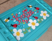 Personalized Pencil Box Gift or Party Favor-girl designs