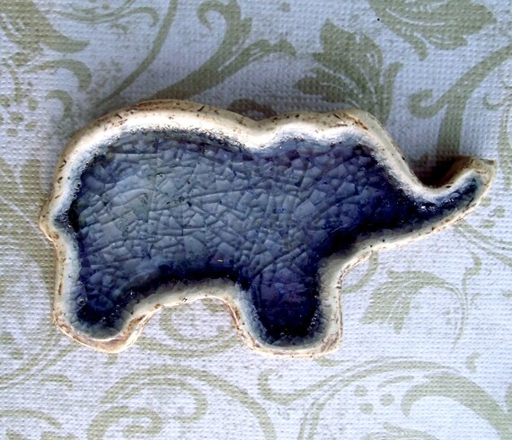 Ceramic Elephant Dish