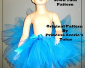 Princess SEWN Sewing Tutu Pattern Newborn up to 12 years