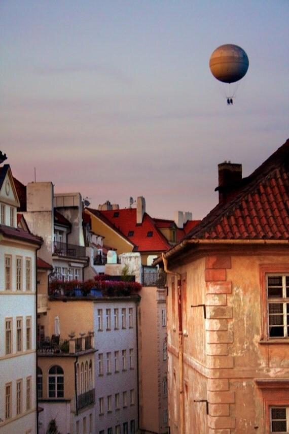 """Fine Art Photograph """"Floating"""" Prague, Czech Republic"""