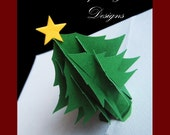 SVG format, DXF files, PDF and hand cutting files Christmas Tree Card