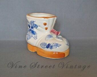 Vintage Shoe Planter