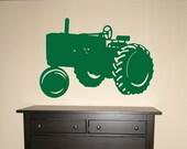 Tractor - Vinyl Wall Decal Art Sticker Farm Graphic