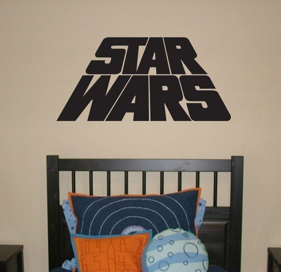 star wars wall decals wars vinyl wall decal words space 30090