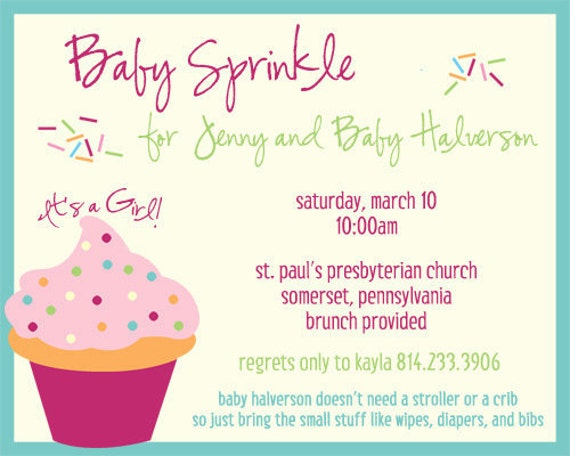 baby sprinkle invitations baby shower invites kaylaander