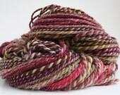 Tea And Roses - handspun yarn (114 yards) wool