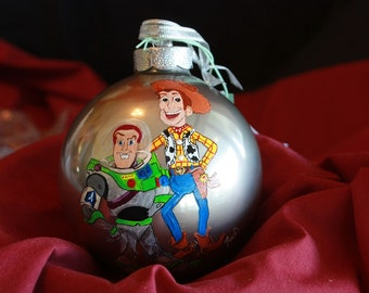 HAND PAINTED ORNAMENT - Pop. Character - Item 188