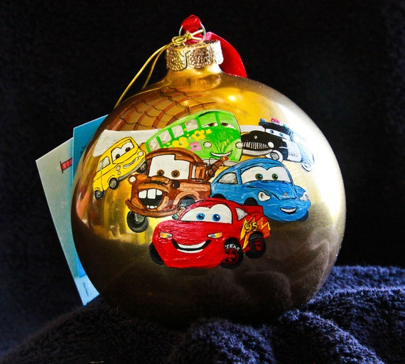 Hand Painted Ornament-Pop. Character-Item 307