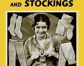 Weldons 4D (23) c.1929 Depression Era Vintage Knitting Patterns for Socks and Stockings