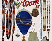 Bestway (56) c.1920 - Bead Novelties in Knitting, Crochet & Loom Work