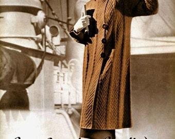 Bear Brand (94) c.1936 - Stylish Vintage Hand Knitted Fashion Patterns