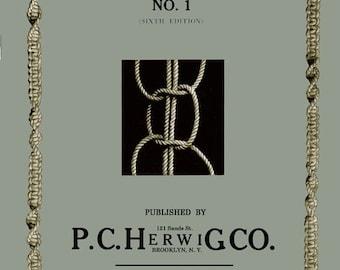 P. C. Herwig (1) c.1926 Macrame Book - Beginner Basics
