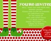 Elf Party Invitation