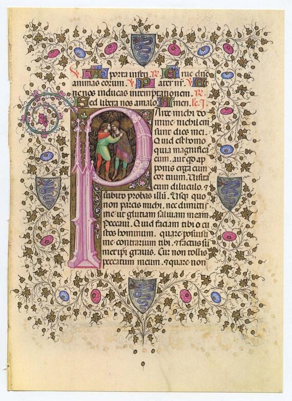 illuminated manuscript letters wwwimgkidcom the