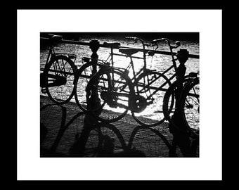 Amsterdam Bicycles 11X14 Fine Art Print