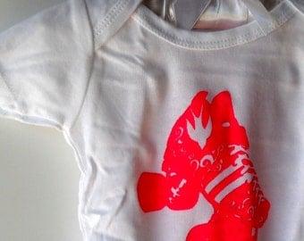 Roller Skate Baby Onepiece Bodysuit, Quad Speed Skating, Roller Derby, Hot pink, Cotton, Baby Shower Gift
