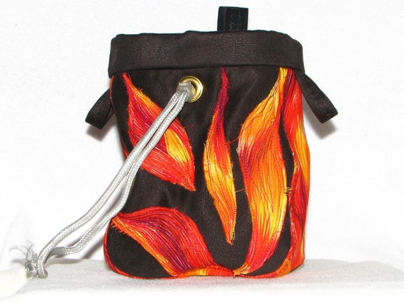 Burn It Up  Chalk Bag